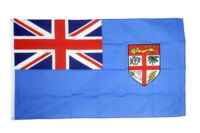 Fiji Flagge Groß 1.5x0.9m National Land Crest Oceania