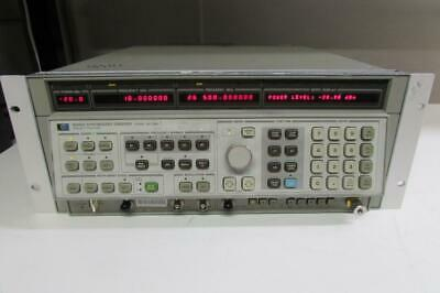 Agilent 8340a Synthesized Sweep Signal Generator 10mhz To 26.5ghz No Option
