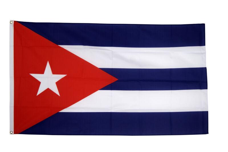Cuba Flag 5 x 3 FT - Socialist Marxist Communist Fidel Castro