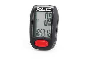 RALEIGH XLC 7 FUNCTION WIRED MTB,CYCLE,BIKE COMPUTER LCD SPEEDOMETER ODOMETER