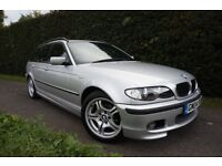 BMW 3 SERIES 318I SPORT TOURING (silver) 2004