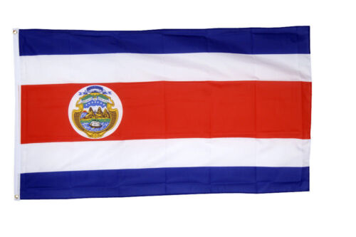 Costa Rica Flags & Bunting - 5x3