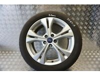 FORD MONDEO MK4 R17 ALLOY WHEEL WITH 5.0MM TYRE 2010-2014 SF64-3