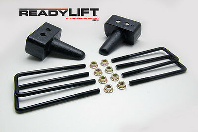 Leaf Spring Axle U-Bolt Kit-3.0 in. Rear Ready Lift fits 04-13 Ford F-150