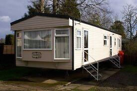 Haggerston Castle Luxury Caravan for hire. GCH Double ensuite. Has bath! Great location.