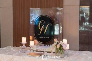Wishing Well Clear Perspex Box with Personalised Monogram Perth Perth City Area Preview