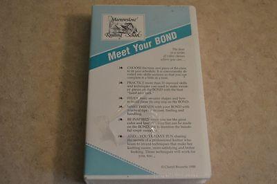 Meet your Bond knitting machine VHS Tape Cheryl Burnette (1988) USM Ultimate
