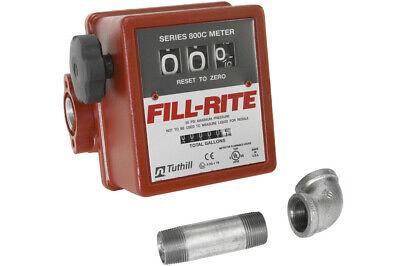 Fill-rite Mechanical 3 Wheel Register Meter