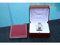 Cartier Santos Stainless Steel & 18K Gold Watch 1566 Mens / Ladies 29mm RRP£4850
