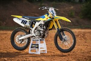 New 2018 Suzuki RMZ450 $90 Bi-Weekly Finance OAC!