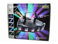 CHAUVET DERBY X DISCO LIGHTING X2