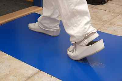 (Sticky Tac Tack Tacky Mat 4 Cleanroom - 91cm x 152cm 1 Mat/30 Sheets Hi-Tac Blue)