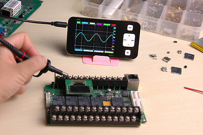 Mini Pocket DS211 ARM DSO Digital Oscilloscope 1 MSa/s 200kHz TFT LCD Display 4#