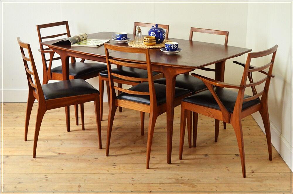 Vintage Dining Table Genuine Mcintosh Solid Teak Danish Design Mid Century