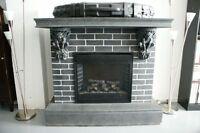 Foyer électrique gothique / gothic fireplace