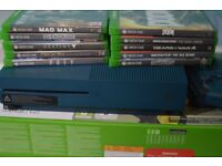 Xbox one + 10 Games