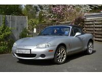 Mazda MX5 Mk2 Euphonic Special Edition (only 2000 made) 1.6 Silver 53 plate - Project Car.