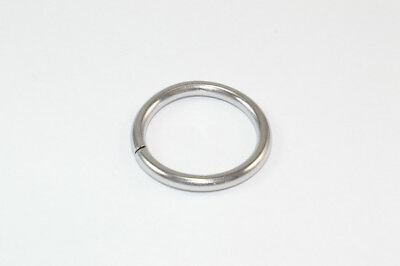Vorhangstange Ringe Gebürsteter Nickel NP Metall ID 16mm - od 18mm - 120 Geräte ()