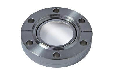 New Pfeiffer High Vacuum Viewport Conflat Dn 40 Cf-f 2.75 Od Sight Glass Mdc