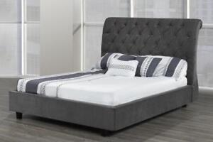 Canadian made Queen sleigh bed  (TI19)