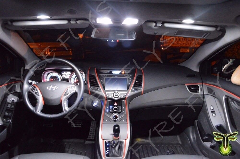 11x White Led Lights Interior Package Kit For 2011 2014 Toyota Sienna Ts3w Picclick