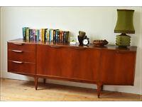 vintage sideboard teak mid century danish design genuine McIntosh