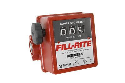 Fill-rite 807c 34 Fuel Mechanical Flow Meter