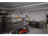 Large 5 star Commercial production catering just off A12/M25 Hackney Wick