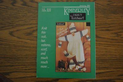 Kimberly Direct Pattern Book Jan1992 Bond USM Ultimate Sweater knitting Machine