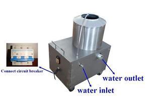 USED Electric Potato Vegetable Peeler Paring Machine Tool 220V 170640