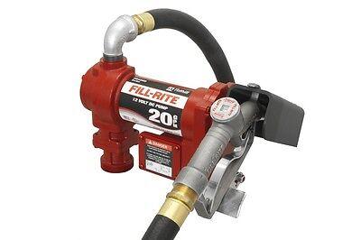 Fill Rite Fr4210g 12 Volt Dc-20 Gpm Transfer Fuel Pump