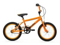 Unisex childs BMX bike brand new £60.00, Online RRP £139.00, for boy or girl aged 5 to 7.