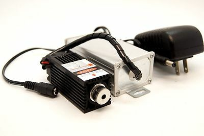 Focusable 450nm 1.6w Blue Laser Module Ttl Gift Goggles