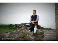 Professional Highland Bagpiper Available for Weddings,Funerals,Parties,Tuition