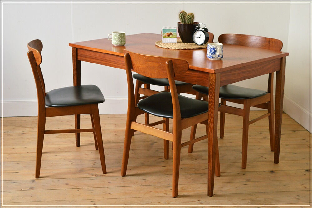 Exceptional Vintage Dining Table (ONLY!) Teak Morris Of Glasgow Danish Design Mid  Century
