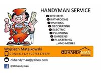 Wembley, Uxbridge, Brent, Hayes, Greenford, Harrow, Acton Handyman