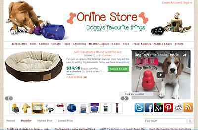 Dog Items Affiliate Store Website Free Installationhosting