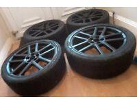 19 Original Arden sportline alloy wheels with tyres Jaguar, Ford, Evoque, Freelander, Alloys