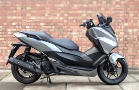 Honda Forza 125cc (65 REG), Good condition with Only 2879 Miles!