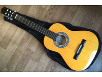 Encore ENC34 Spanish Classical Acoustic Guitar Natural steel strings, 3/4