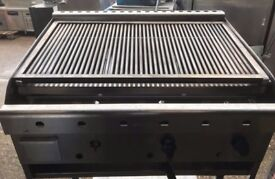 ARCHWAY 3 BURNER CHARCOAL GRILL SHORT 3BS COMMERCIAL GRILL FOR SHOPS