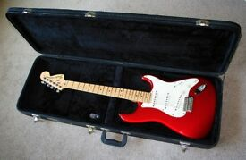 Candy Apple Red USA Fender American SpecialStratocaster