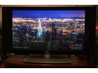 """43"""" HD TV Plasma Television with attached side speakers - Pioneer PDP-436PE"""