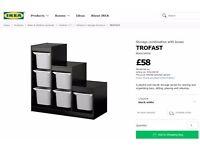 IKEA TROFAST shelves / drawers