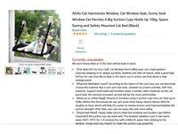 Cat Hammocks Window, Cat Window Seat, Sunny Seat Window Cat Perches