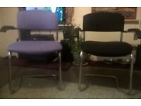 office chairs, very comfy X 2 £5 each