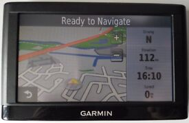 "5"" GARMIN nuvi 52LM Free Lifetime Maps Updates UK&RoI + bonus East Europe - 2018 (no offers!)"