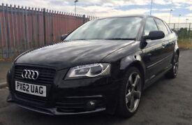 Audi A3 S-Line 2012 Black Edition