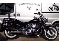 EXCELLENT CONDITION 2005 YAMAHA XVS1100A DRAGSTAR CLASSIC WITH EXTRAS LAST OF CARB MODELS