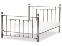 NEXT single bed in pewter (similar to Leamington), with NEXT mattress.